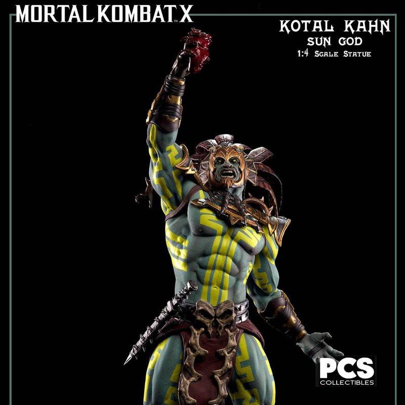 Kotal Kahn Sun God - Mortal Kombat - 1/4 Scale Statue