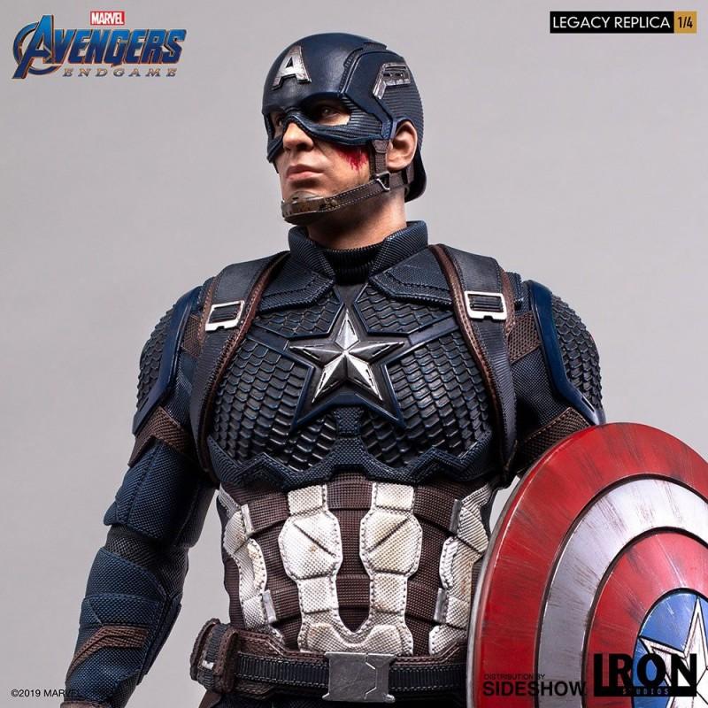 Captain America - Avengers: Endgame - 1/4 Scale Legacy Replica Statue