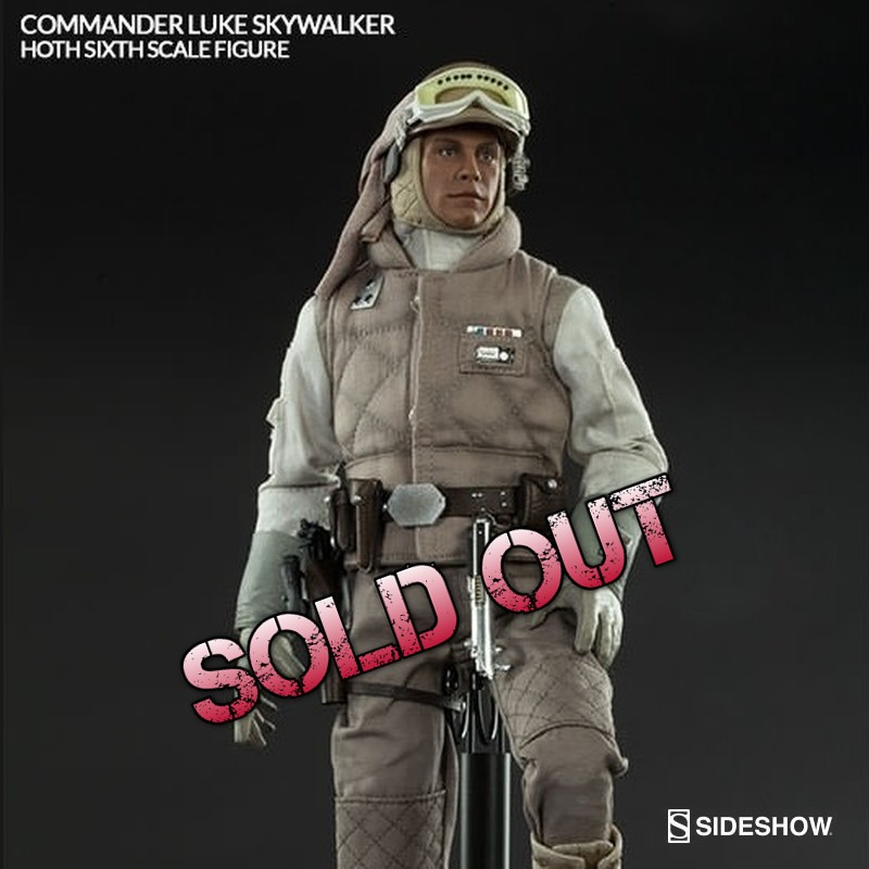 Luke Skywalker Hoth - Star Wars - 1/6 Scale Figur
