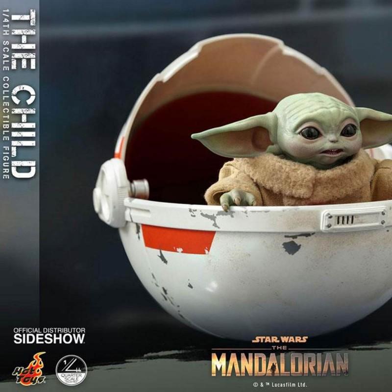 The Child - Star Wars The Mandalorian - 1/4 Scale Figur