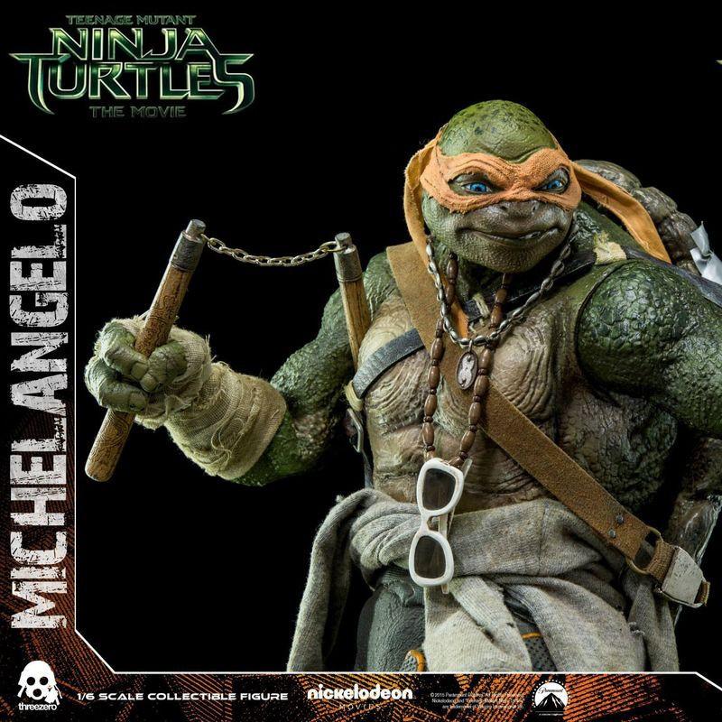Michelangelo - TMNT - 1/6 Scale Action Figur