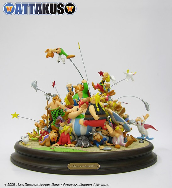 50 Years of Friendship - Asterix - Resin Diorama