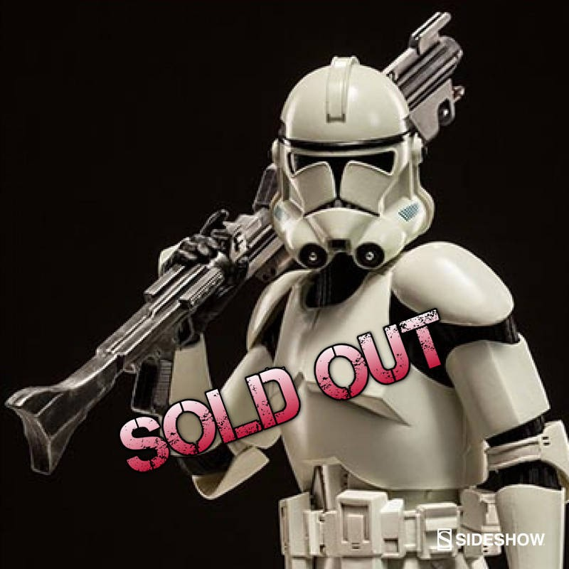 Shiny Clone Trooper Deluxe - Star Wars - 1/6 Scale