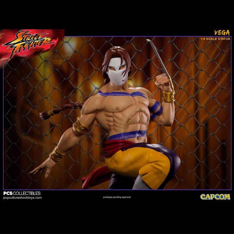 Vega - Street Fighter - 1/4 Scale Statue