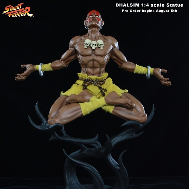 Dhalsim - Street Fighter - 1/4 Scale Statue