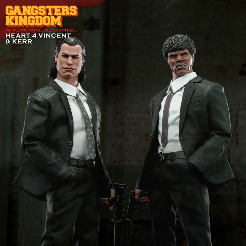 Heart 4 Vincent & Kerr - Gangster's Kingdom - 1/6 Scale Actionfigur