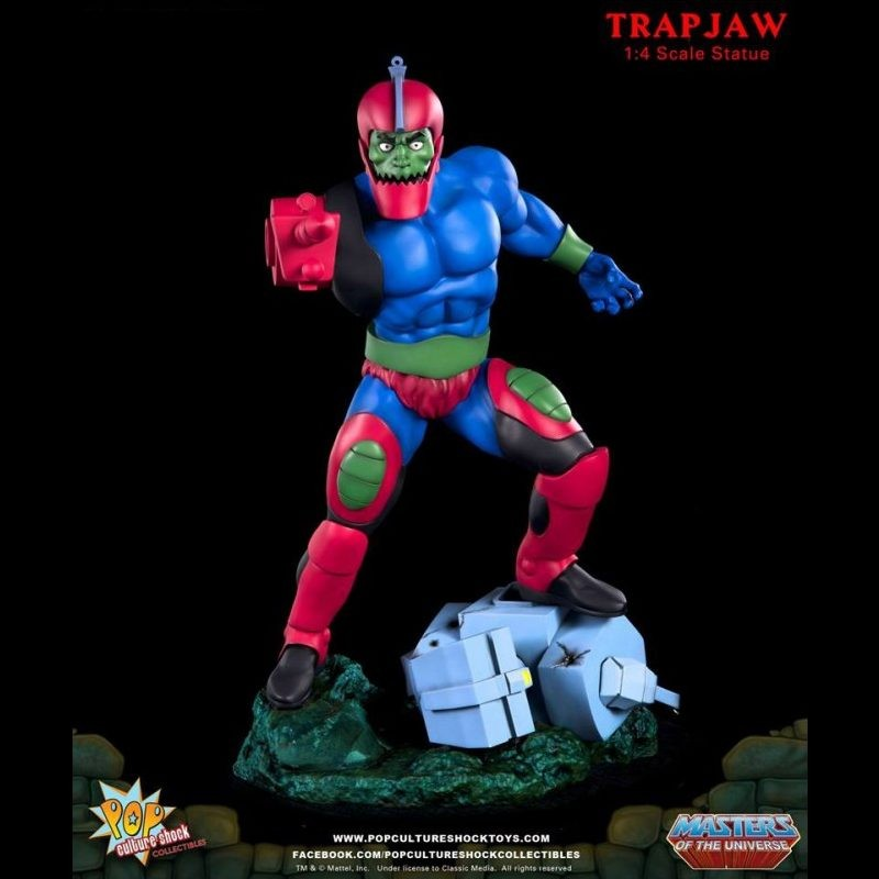 Trapjaw - Master of the Universe - 1/4 Scale Statue