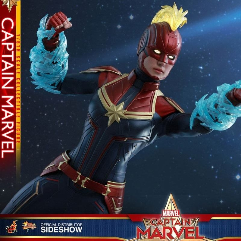 Captain Marvel - Captain Marvel - 1/6 Scale Figur