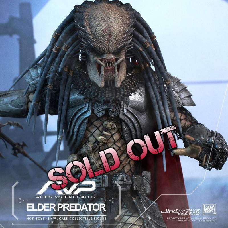 Elder Predator - AVP - 1/6 Scale Action Figur