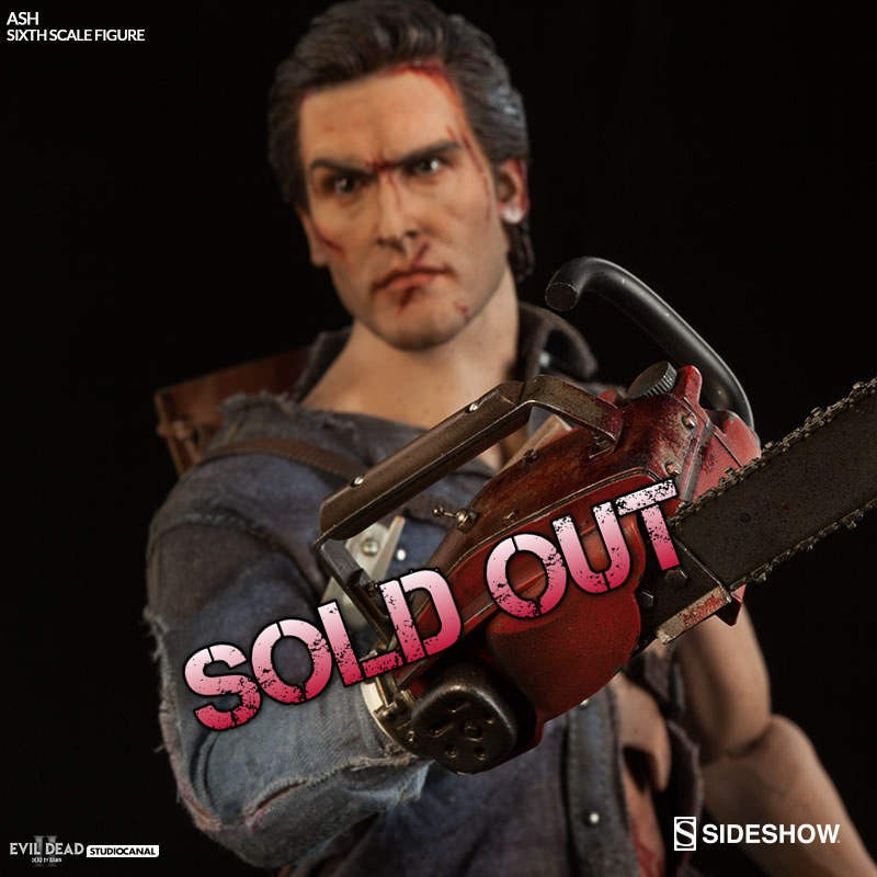 Ash - The Evil Dead - 1/6 Scale Figur