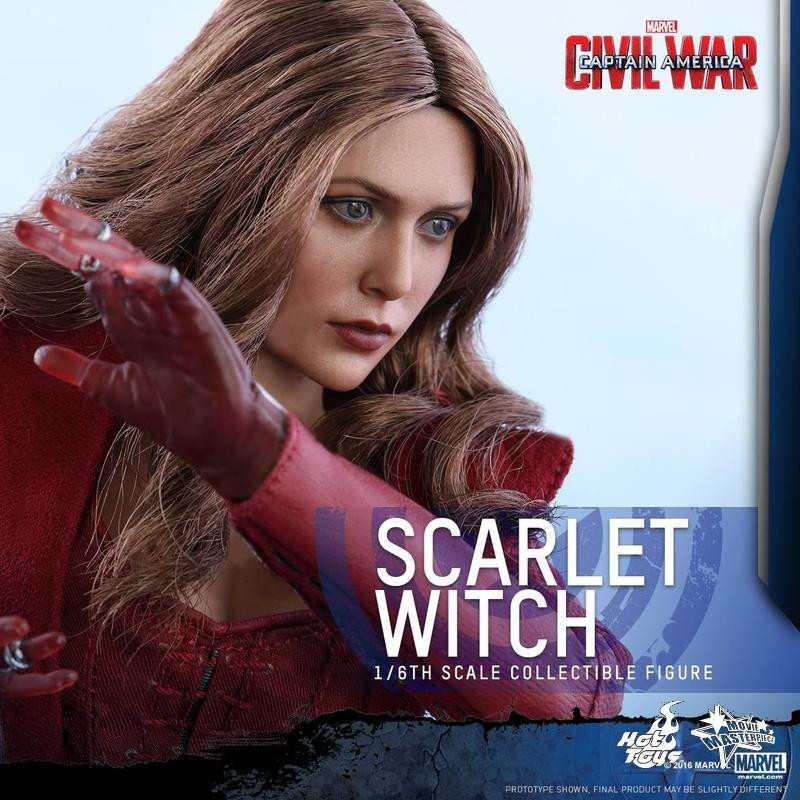 Scarlet Witch - Civil War - 1/6 Scale Action Figur