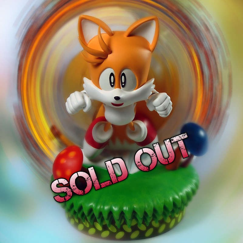 Tails - Sonic the Hedgehog - Polystone Statue