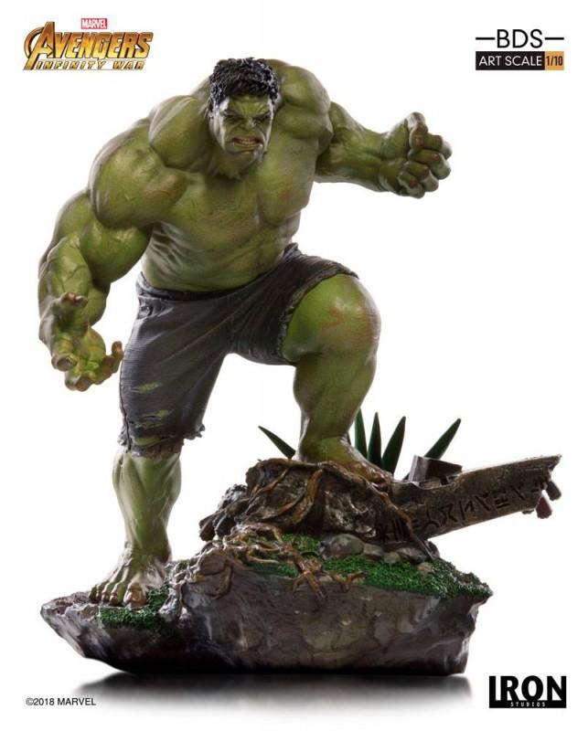 Hulk - Avengers Infinity War - BDS Art 1/10 Scale Statue
