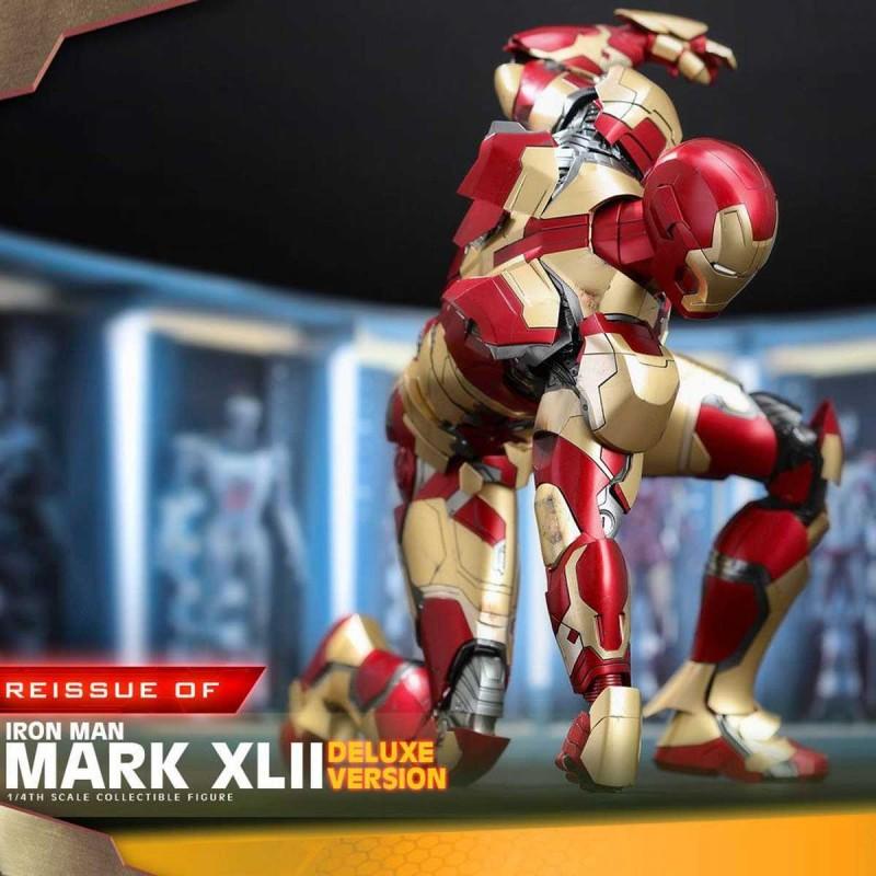Iron Man Mark XLII - Iron Man 3 - 1/4 Scale Figur (Deluxe Version)