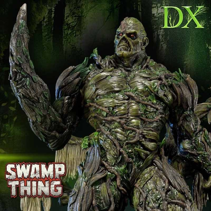 Swamp Thing Deluxe Version - DC Comics - Polystone Statue