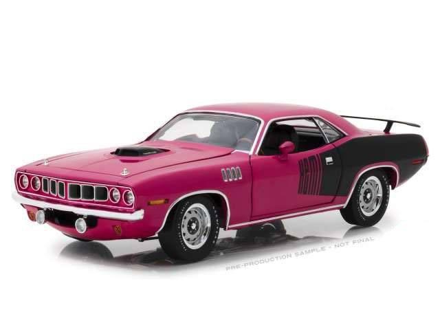 1971 Plymouth Hemi Cuda - Nur noch 60 Sekunden - Diecast Modell 1/18