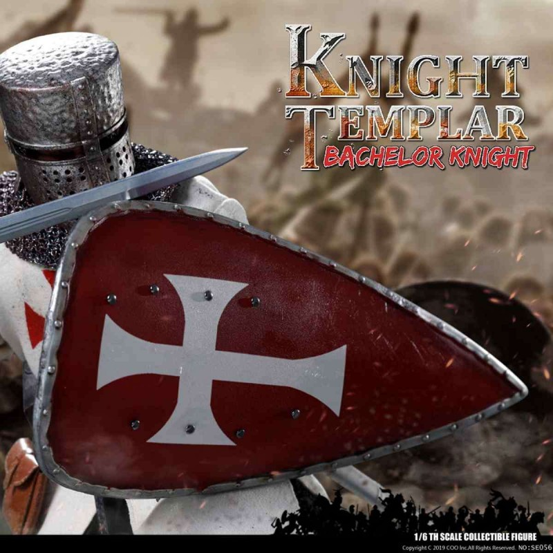 Bachelor of Knights Templar - Series of Empires - 1/6 Scale Actionfigur