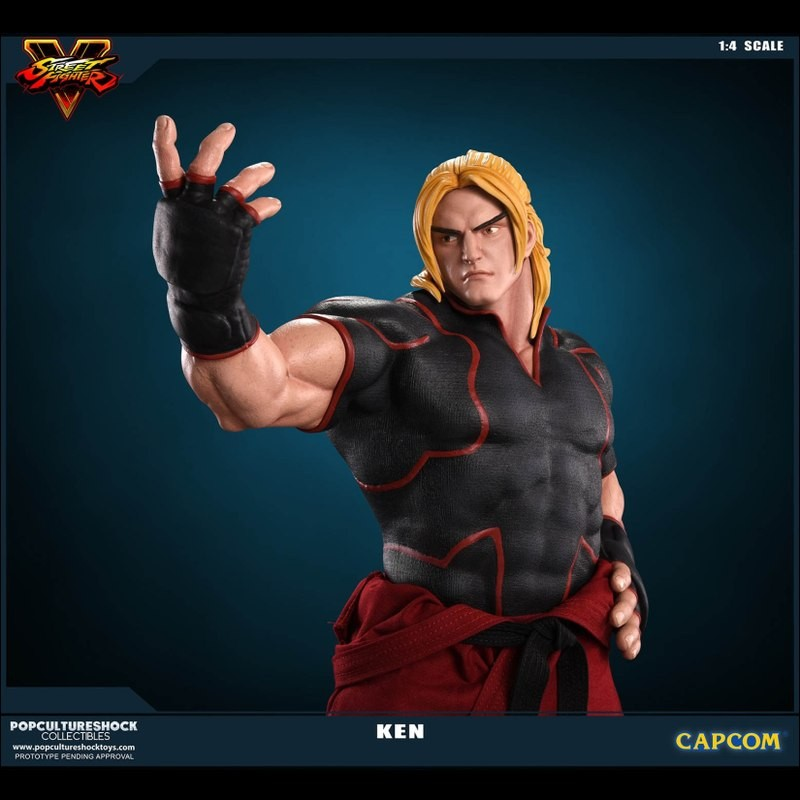 Ken - Street Fighter - 1/4 Scale Statue