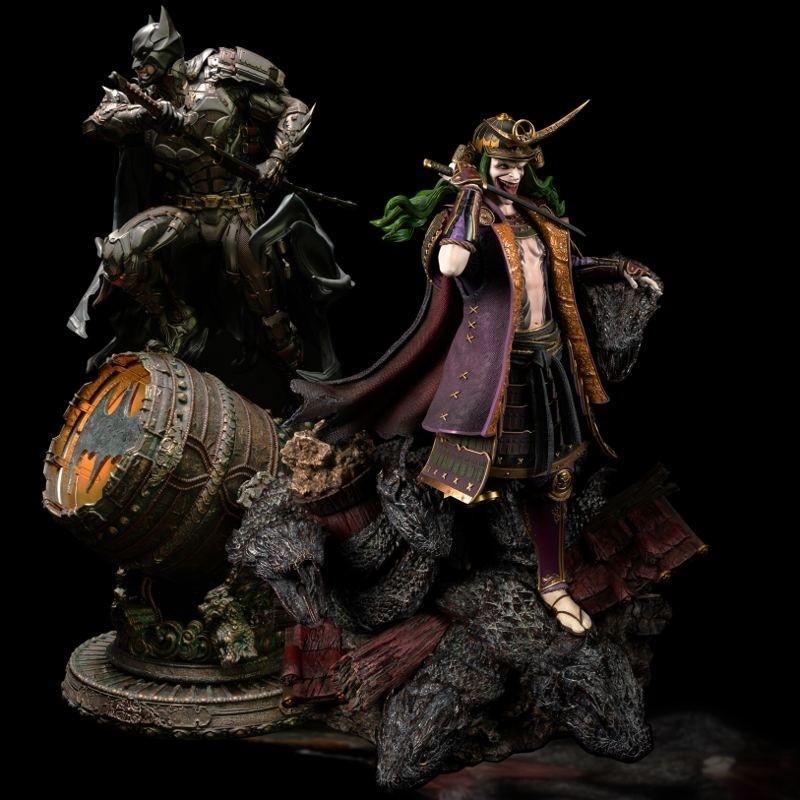 Batman Shugo and Joker Orochi Twin Set - DC Comics - 1/4 Scale Premium Statue