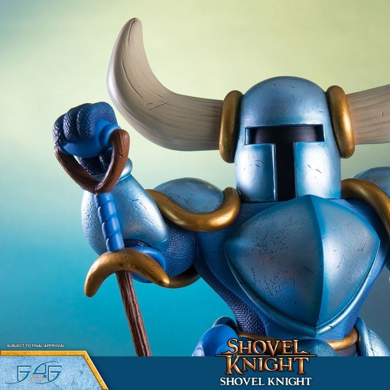 Shovel Knight - Shovel Knight - Polystone Statue