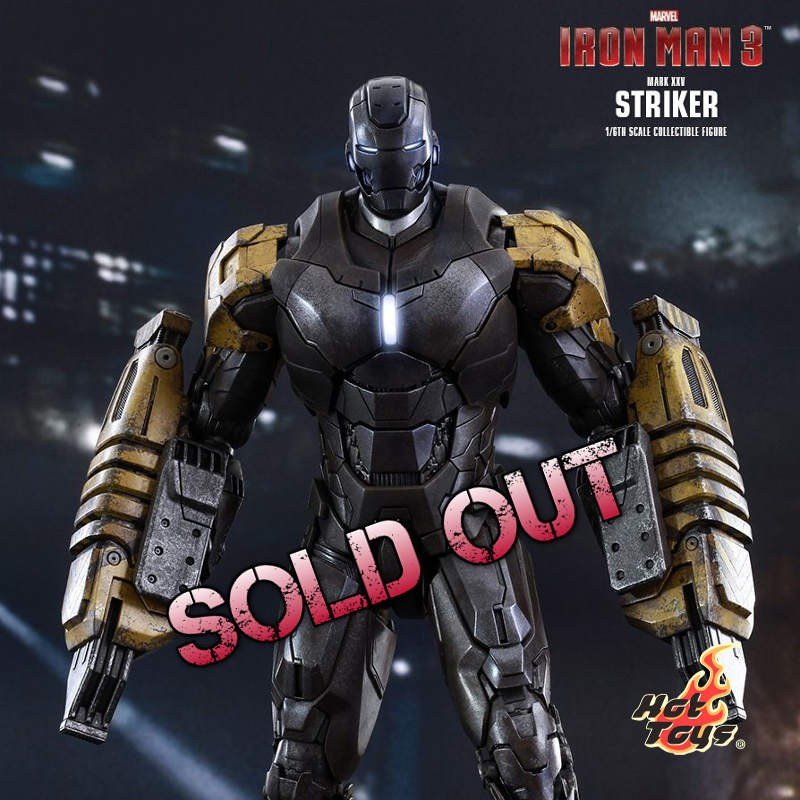 Striker Mark XXV - Iron Man 3 - 1/6 Scale Action Figur