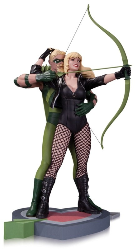 Green Arrow & Black Canary - DC Comics - Resin Statue