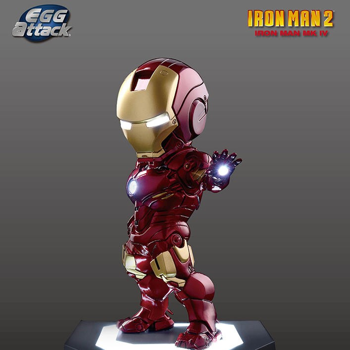 Mark 4 - Iron Man - Egg Attack Figur