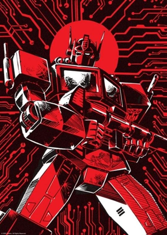 Optimus Prime Limited Edition - Transformers - Kunstdruck 42 x 30 cm