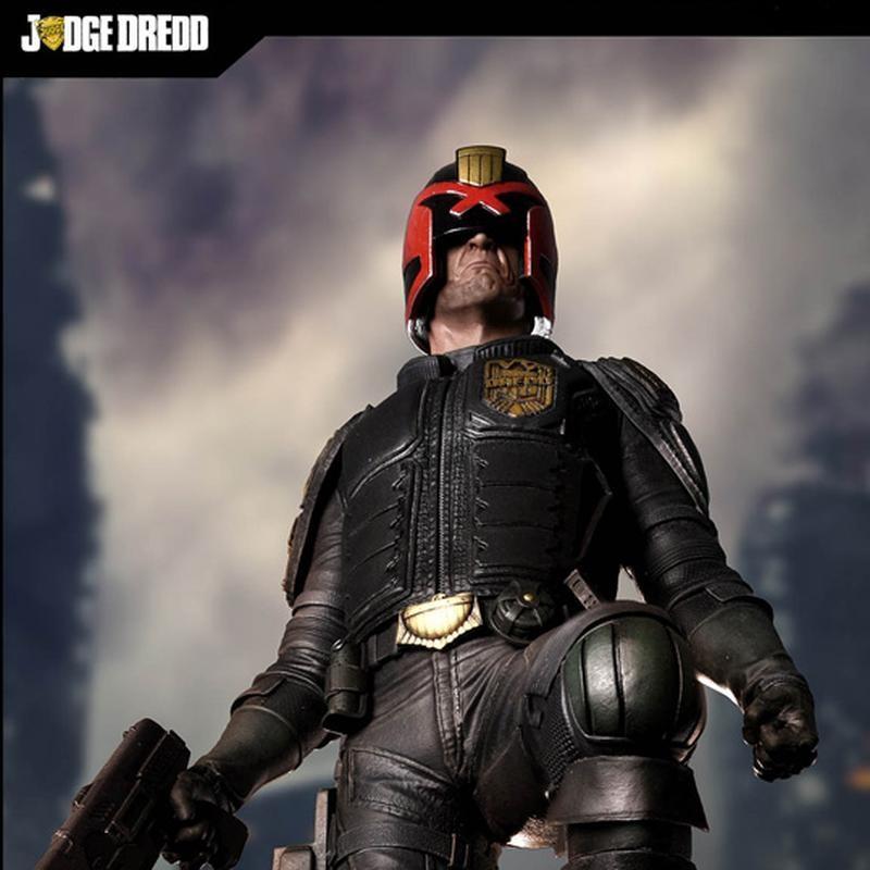 Judge Dredd - 2000 AD - 1/4 Scale Statue