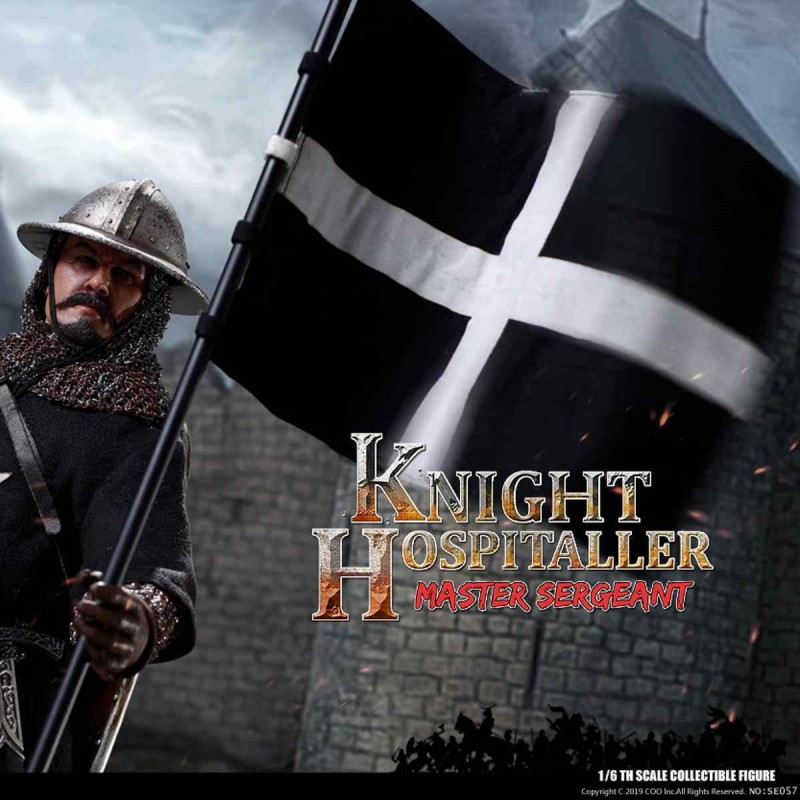 Sergeant of Knights Hospitaller - Series of Empires - 1/6 Scale Actionfigur