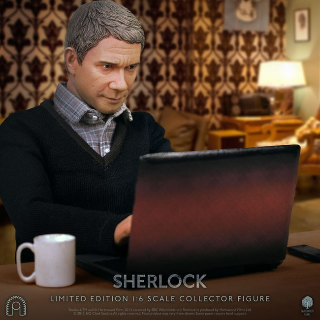 Dr. John Watson - Sherlock - 1/6 Scale Figur
