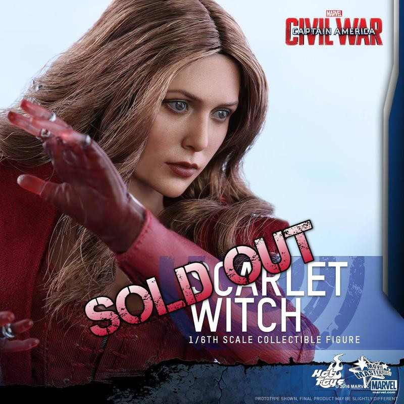 Scarlet Witch - Civil War - 1/6 Scale Action Figur