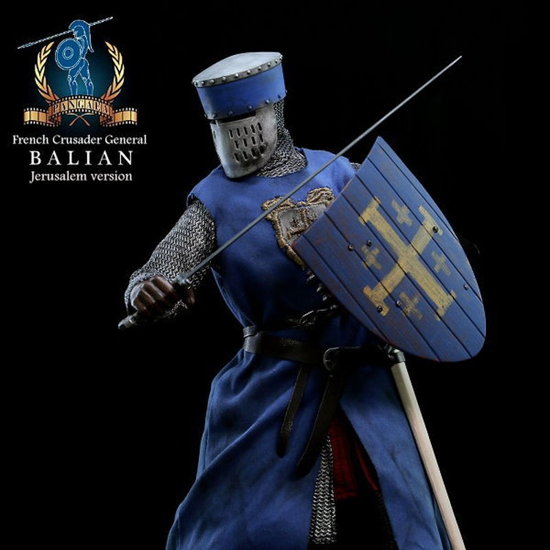 Balian (Jerusalem Version) - French Crusader General - 1/6 Scale Actionfigur