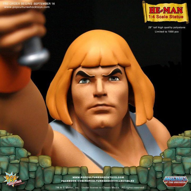 He-Man - Master of the Universe - 1/4 Scale Statue
