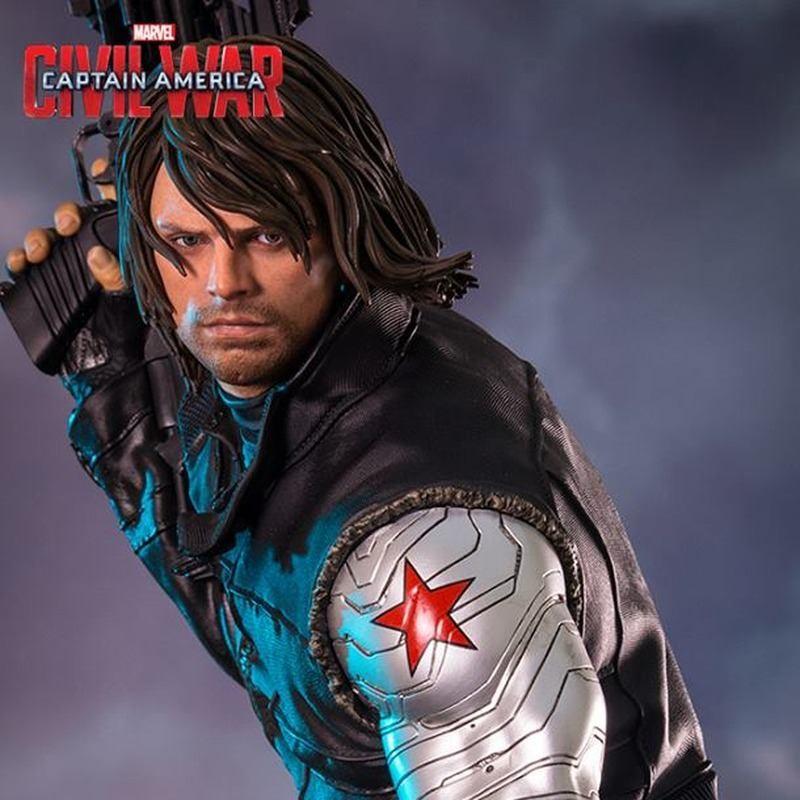 Winter Soldier - Captain America Civil War - 1/4 Scale Statue