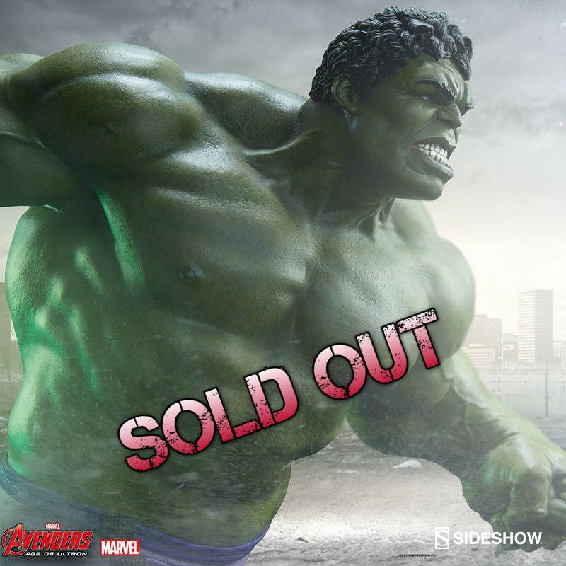 Hulk - Avengers: Age of Ultron - Maquette
