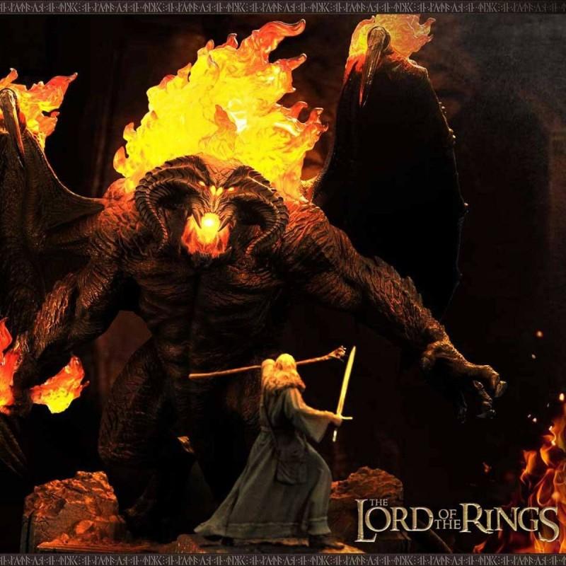 Gandalf Vs. Balrog - Herr der Ringe - Polystone Statue