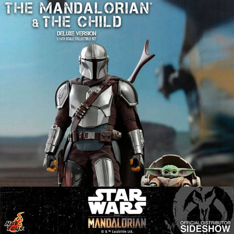 The Mandalorian & The Child (Deluxe Version) - Star Wars The Mandalorian - 1/6 Scale Figur