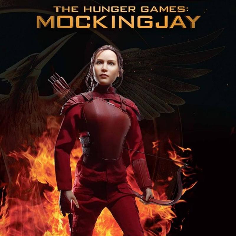 Katniss Everdeen Red Armor Version - Die Tribute von Panem Mockingjay Teil 1 - 1/6 Scale Actionfigur
