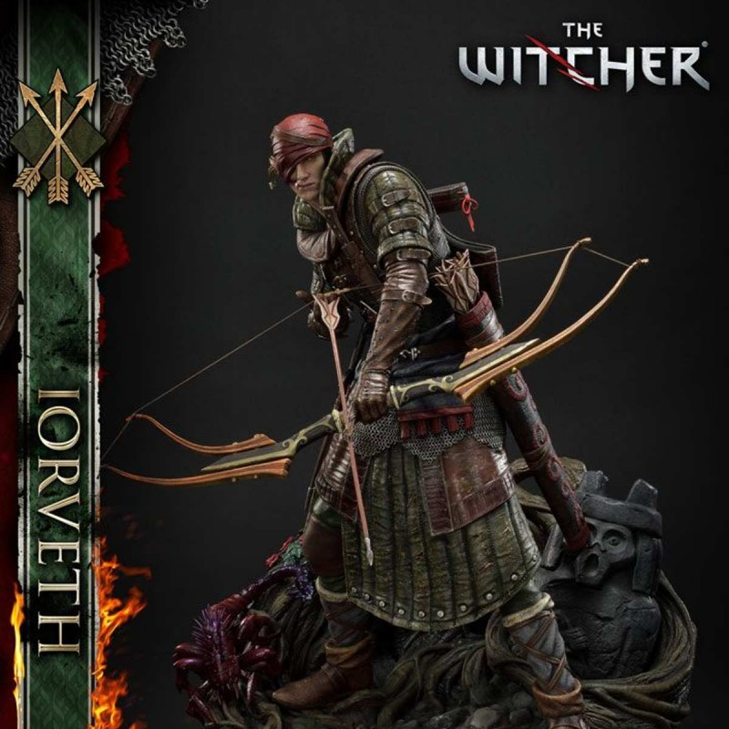 Iorveth - The Witcher 2: Assassins of Kings - 1/4 Scale Polystone Statue