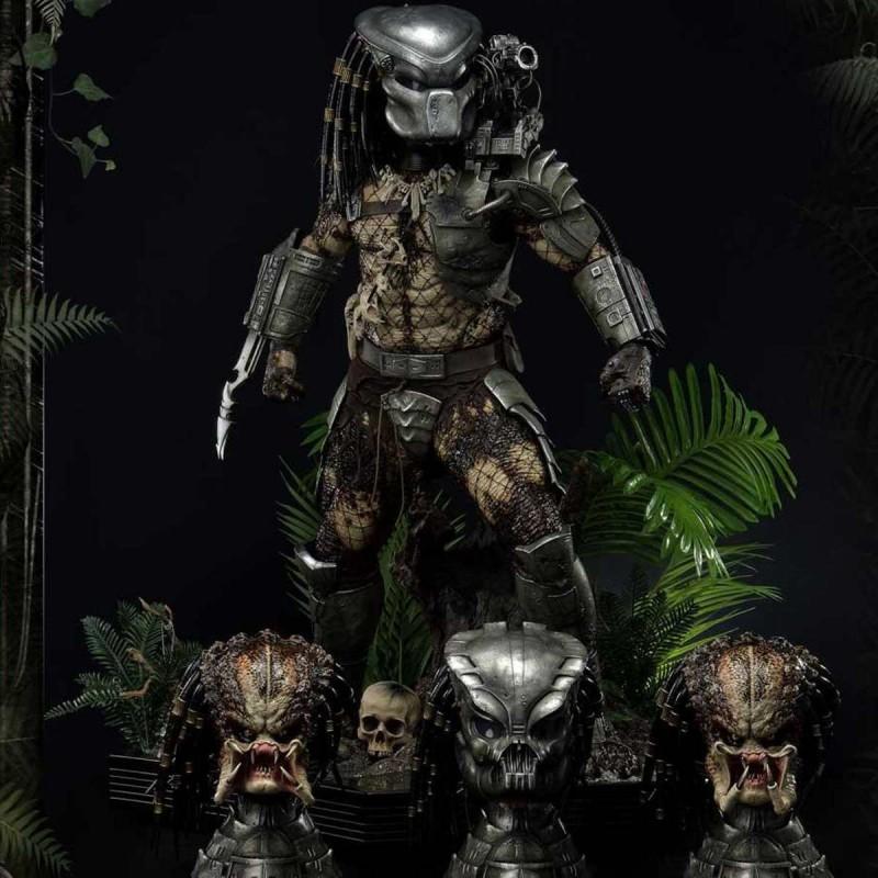 Jungle Hunter Predator (Deluxe Bonus Version) - Predator - 1/3 Scale Statue