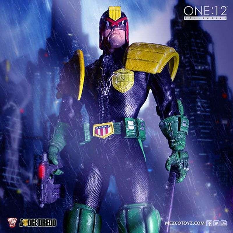 Judge Dredd - Judge Dredd - 1/12 Scale Figur