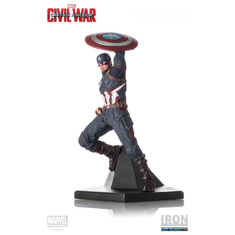 Captain America - Captain America Civil War - 1/10 Scale Statue