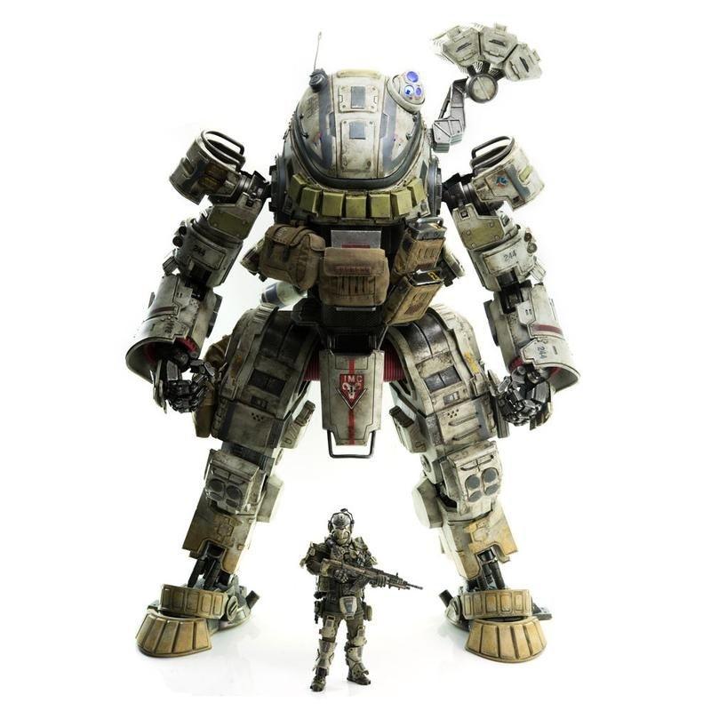 IMC Ogre - Titanfall - Action Figur 51cm