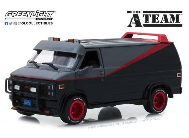 GMC Vandura - A-Team - Diecast Modell 1/24