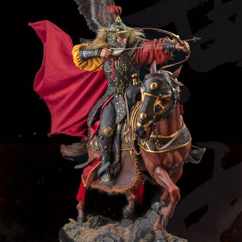 Huang Zhong - Three Kingdoms: Five Tiger - 1/4 Scale Polystone Statue