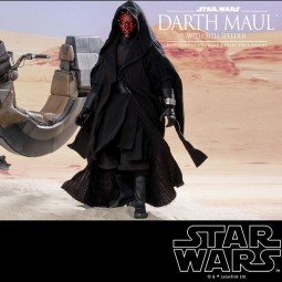 Darth Maul & Sith Speeder - Star Wars Episode I - 1/6 Scale Figur