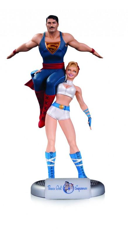 Power Girl & Superman - Bombshells Statue 35cm
