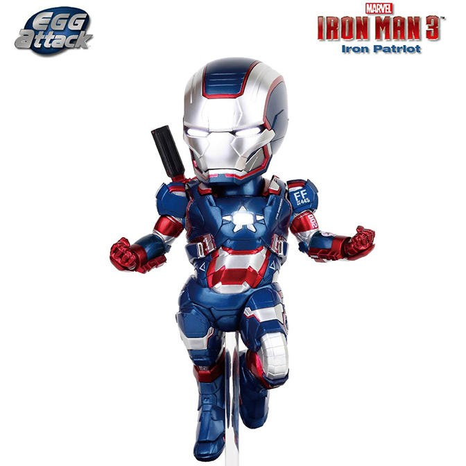 Iron Patriot - Iron Man - Egg Attack Figur