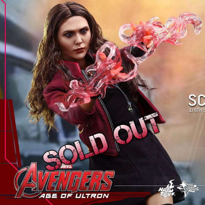 Scarlet Witch - Age of Ultron - 1/6 Scale Figur